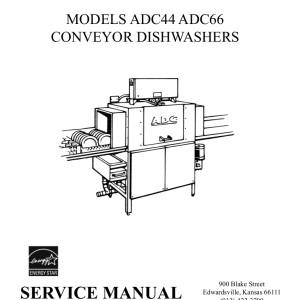 ADS Dishwasher Service Manual 05