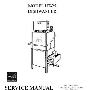 ADS Dishwasher Service Manual 10