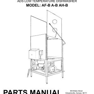 ADS Dishwasher Service Manual 12