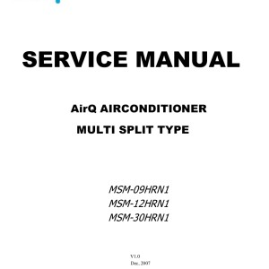 AirQ Air Conditioning Service Manual 01