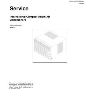 Amana Air Conditioner Service Manual 12