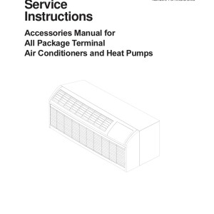 Amana Air Conditioner Technical Manual 03