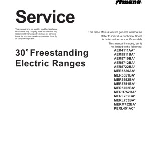 step right up appliance service manuals rh new2 steprightupmanuals com Amana Gas Stove Manual Ownersmanuals Amana Range Manual