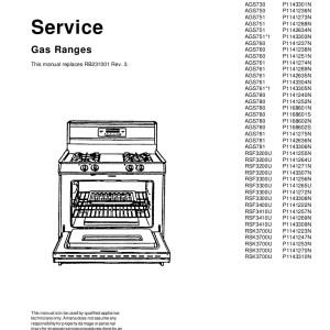 Amana Food Warmer Service Manual 04
