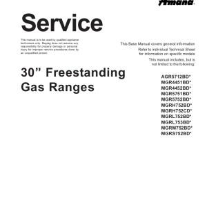 Amana Food Warmer Service Manual 08