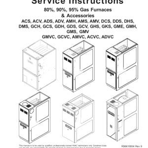 Amana Furnace Service Manual 03