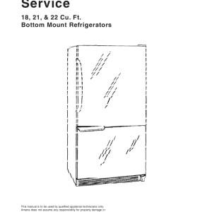 step right up appliance service manuals rh new2 steprightupmanuals com Amana Refrigerator Bottom Freezer Amana Refrigerator Bottom Freezer