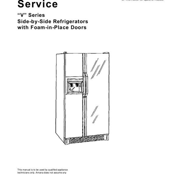 Amana Ptac Pth123a25ab service manual