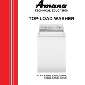 Amana Washer Service Manual  06