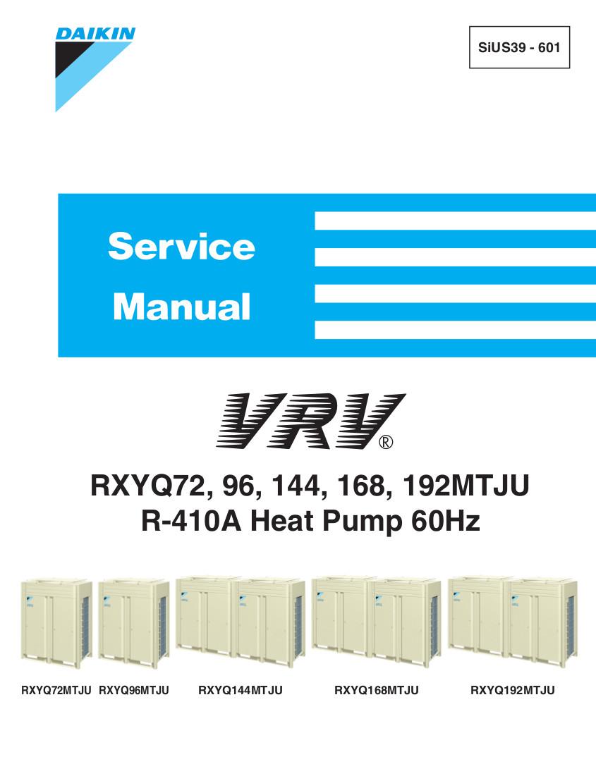 Daikin Vrv 2 Service manual