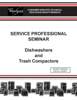 Dishwasher and Trash Compactor Seminar Manual