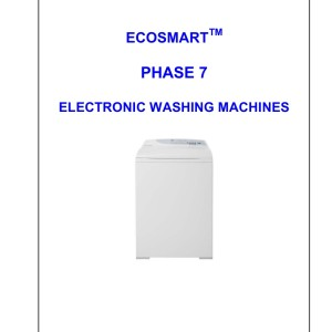 Fisher & Paykel Washer Service Manual 12