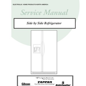 step right up appliance service manuals rh new2 steprightupmanuals com Frigidaire Gas Range Manual Frigidaire Refrigerator Only