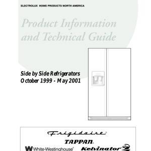 step right up appliance service manuals rh new2 steprightupmanuals com frigidaire professional refrigerator service manual frigidaire french door refrigerator service manual
