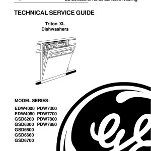 ge triton dishwasher schematic free download  u2022 oasis