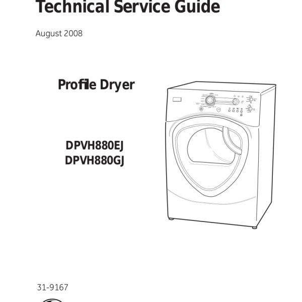 step right up appliance service manuals rh new2 steprightupmanuals com GE Profile Clothes Dryer Model GE Profile Dryer Troubleshooting