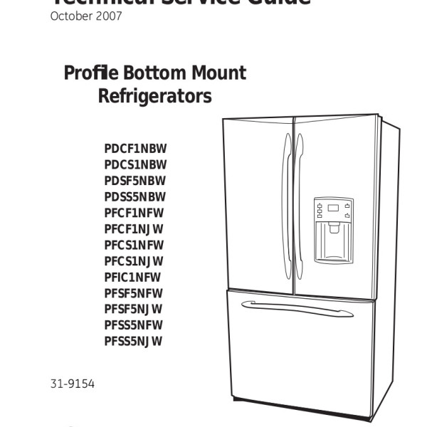 Wiring diagram ge side by refrigerators powerking