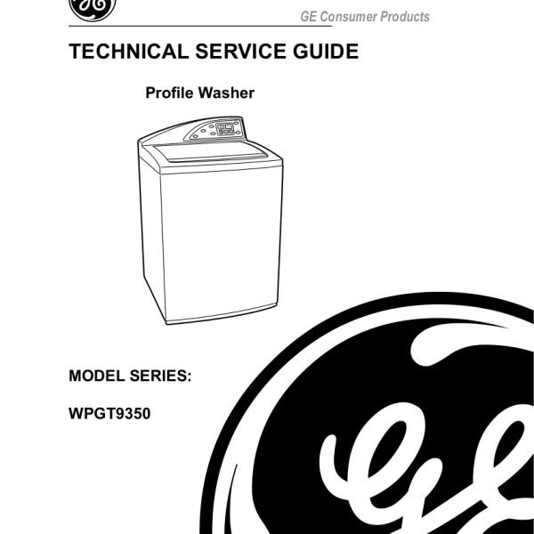 step right up appliance service manuals rh new2 steprightupmanuals com General Electric Washing Machine Repair ge washing machine maintenance manual