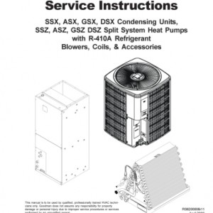 Goodman Heat Pump Service Manual 3