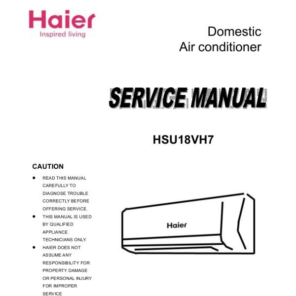 step right up appliance service manuals vivitar wiring diagram haier model hsu18vh7 air conditioner service manual