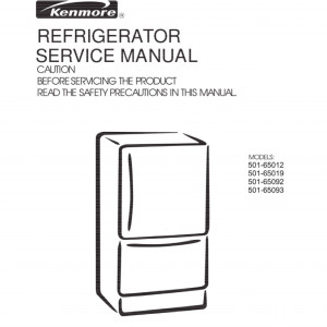 step right up appliance service manuals rh new2 steprightupmanuals com Kenmore Refrigerator Model Numbers Kenmore Refrigerator Model Number Location