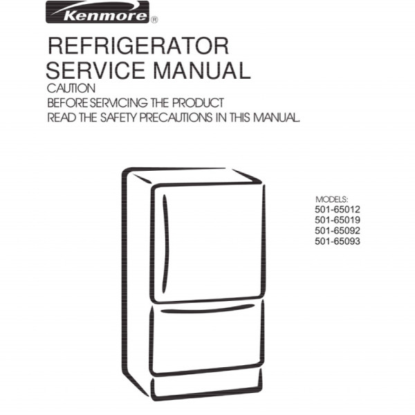 step right up appliance service manuals rh new2 steprightupmanuals com Kenmore Refrigerator Troubleshooting Kenmore Top Mount Refrigerator