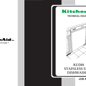 Kitchen Aid Model Kudsij