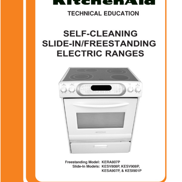 KitchenAid Electric Range ...