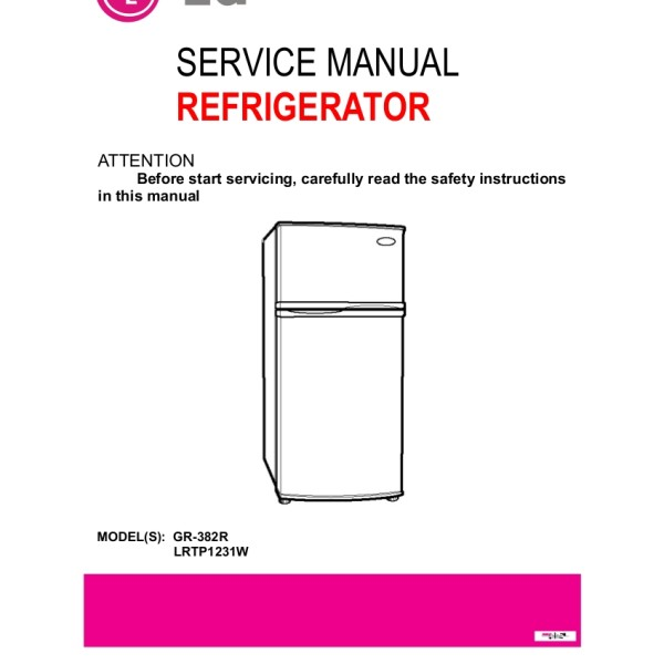 lg refrigerator manuals image refrigerator nabateans org rh nabateans org lg refrigerators instruction manuals LG Refrigerator Parts