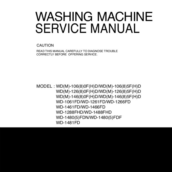 Lg 1480 qds manual lg washer service manual 69 fandeluxe Choice Image