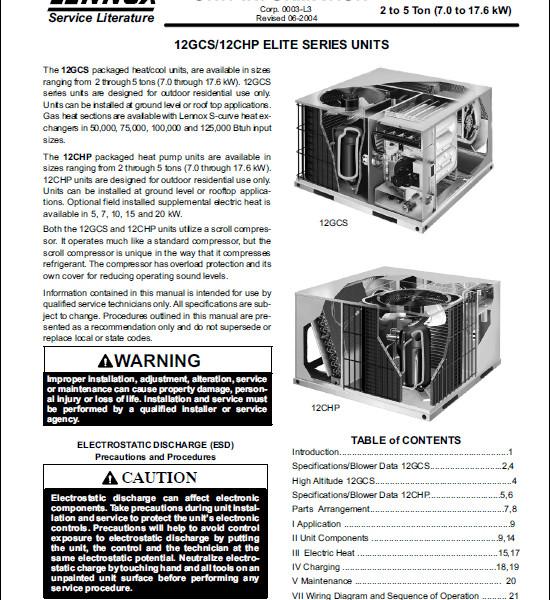 lennox elite. lennox air conditioner manual database elite