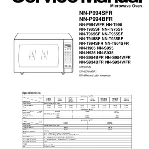 Panasonic The Genius Microwave Manual Bestmicrowave