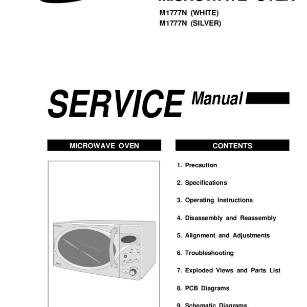 Samsung Microwave Repair Manual