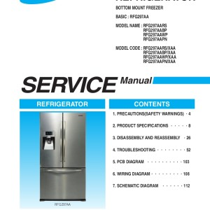 step right up appliance service manuals rh new2 steprightupmanuals com Samsung French Door Refrigerator Parts Samsung French Door Refrigerator Problems