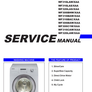 Samsung Washer Service Manual 01