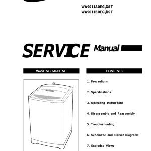 Samsung Washer Service Manual 10