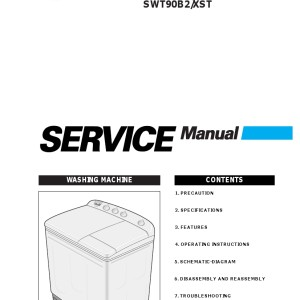 Samsung Washer Service Manual 13