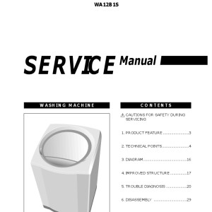 Samsung Washer Service Manual 14