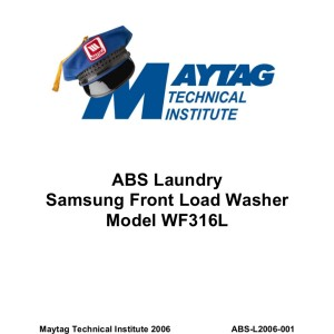 Samsung Washer Service Manual 20