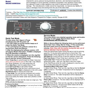 Samsung Washer Service Manual 22