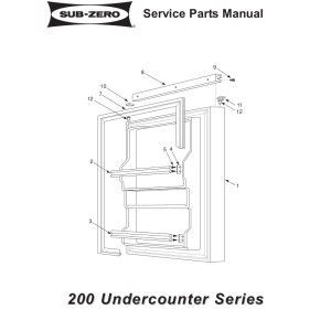 as well Sub Zero Freezer Service Manuals also X8124e07 also  additionally 648pro. on refrigerator storage order