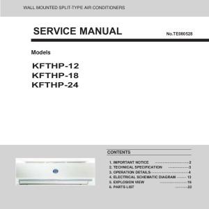 Command aire service manual Conditioner