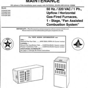 trane xr80 owners manual daily instruction manual guides u2022 rh testingwordpress co Trane Service Manuals Trane HVAC Service