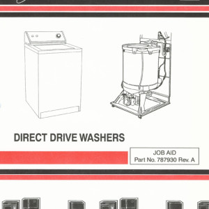 Whirlpool Direct Drive Washers Service Manual