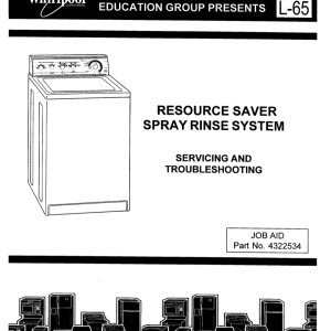 Whirlpool Washer Service Manual 17