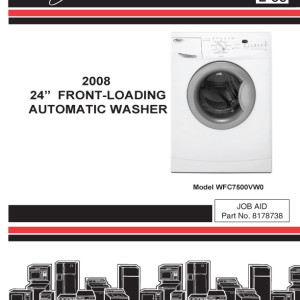 Whirlpool Washer Service Manual 2