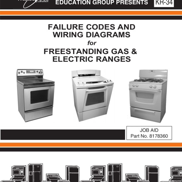 whirlpool range failure codes and wiring diagrams