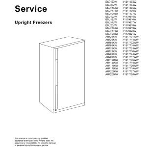 Amana Refrigerator Service Manual 09