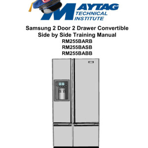 samsung dishwasher service manual pdf