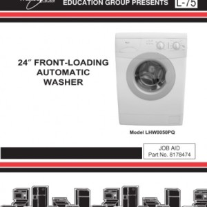 Whirlpool Washer Service Manual